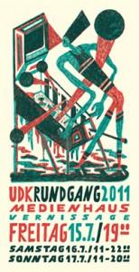 UdK: Einladung Rundgang 2011