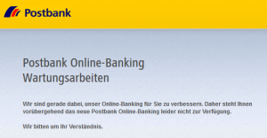 Postbank Online Banking