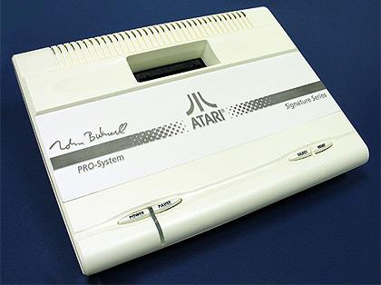 Atari 7800 Nolan Bushnell Signature Series